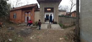 Our host's front entrance to their village compound